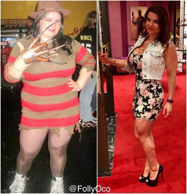 Most Inspiring Before After Weight Loss Photos