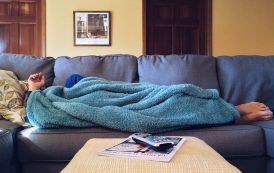 Is it good to fall asleep on your sofa?