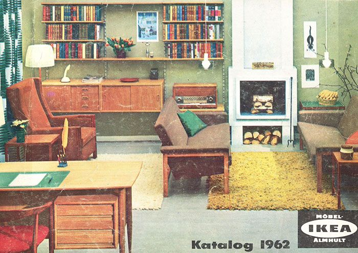 IKEA Catalog Covers From 1951 2000