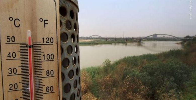 Temperatures in city of Ahvaz hit 50C