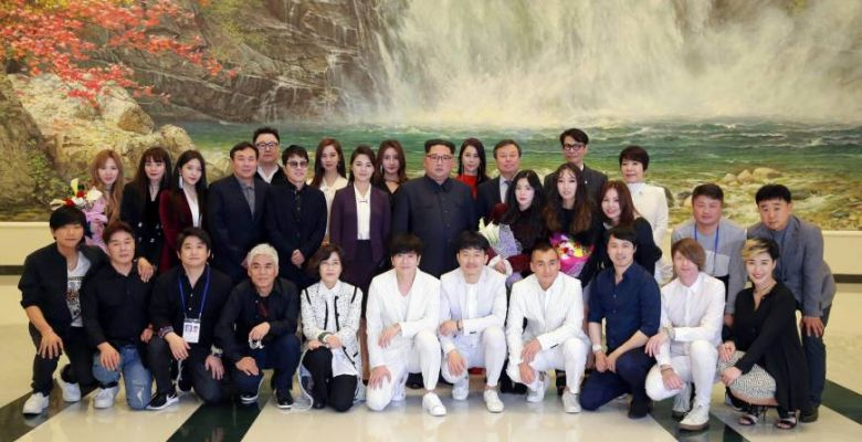 Kim Jong Un attend South Korean pop concert in Pyongyang
