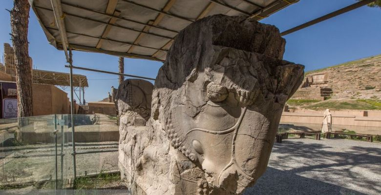Vandalism at Ancient Site, The PERSEPOLIS