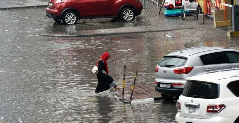 How heavy rains affected life in UAE