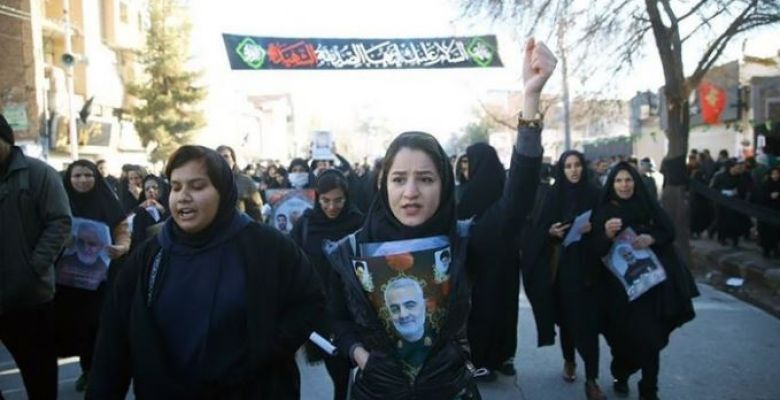 Qassem Soleimani's remains arrive in hometown for burial