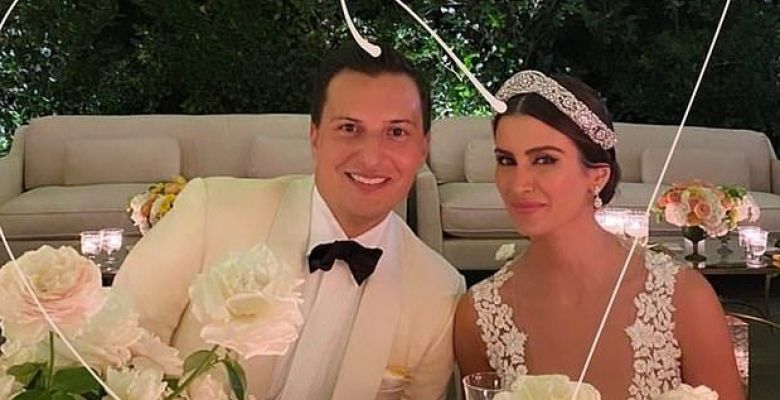 Inside Roxy Sowlaty and Nicolas Bijan Pakzad's wedding