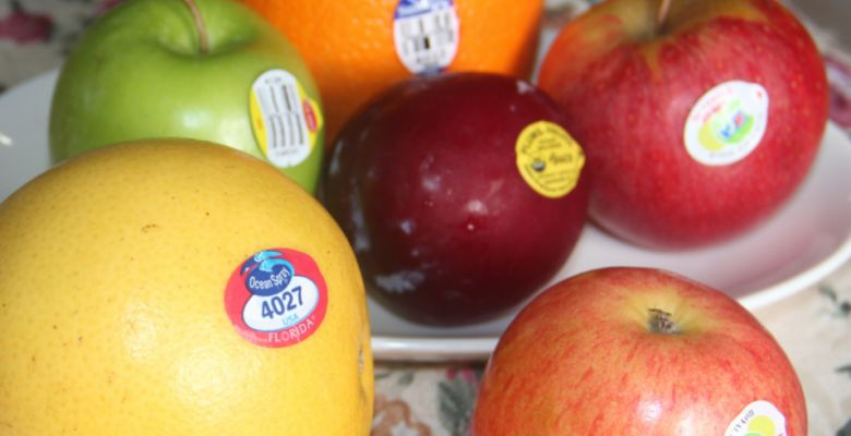 Do You Know The Meaning Of Fruit Stickers?