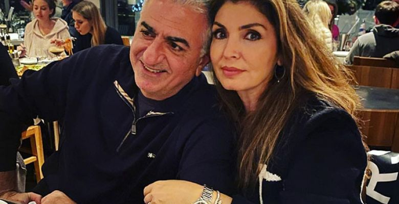Reza Pahlavi and his family in 2021