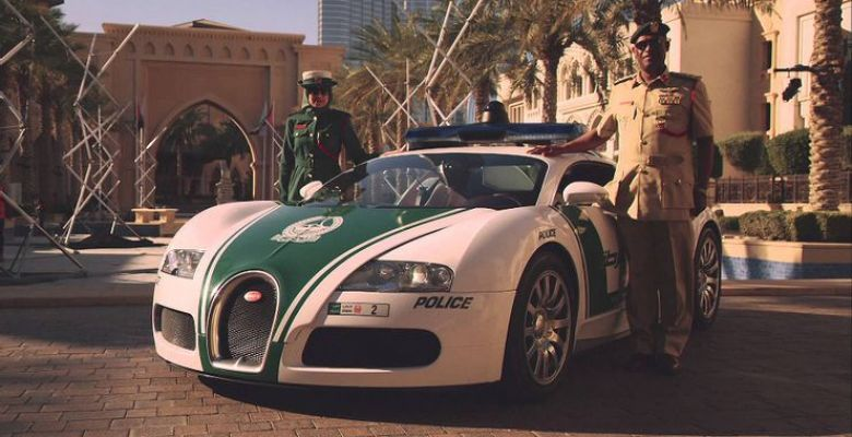 Insane Supercars in the Dubai Police Fleet